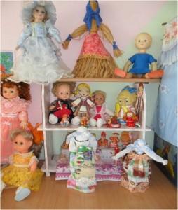 """Мини -музей """"Бабушкины куклы"""""""